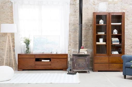 CITY TEAKWOOD LIVING ROOM