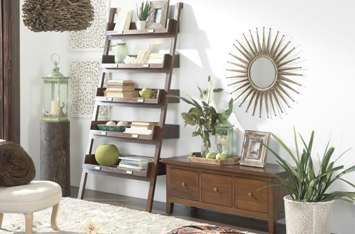 AFRIKAAN-LADDER SALOTTO TEAK