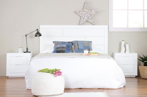 SISAL WHITE BEDRROM