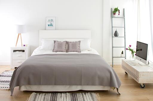 HAME-TRIBECA WHITE BEDROOM