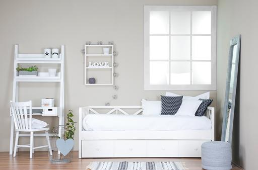 NIZA WHITE YOUTHFUL BEDROOM