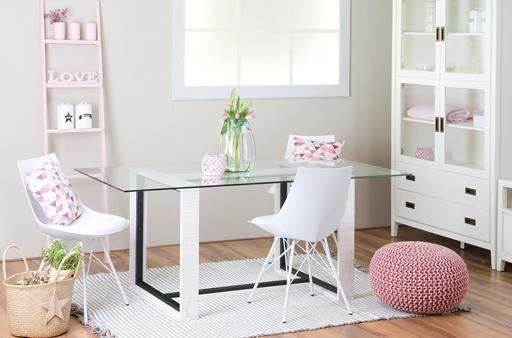 NORDIC WHITE DINING ROOM