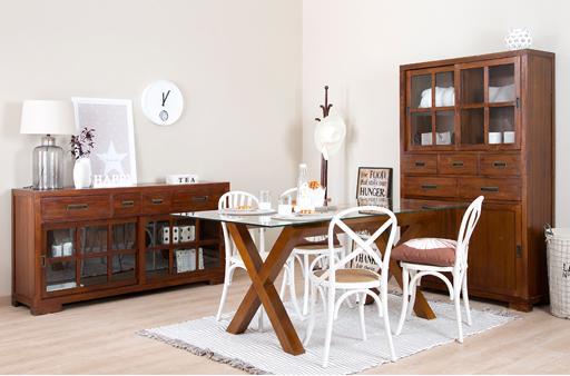 GAUSS-KENIA TEAK DINING ROOM