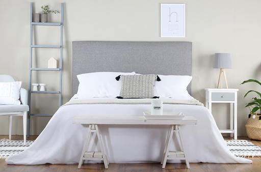 ACHIO-ICE WHITE-GREY BEDROOM