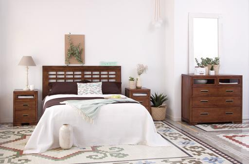 KENIA TEAKWOOD BEDROOM 150/160