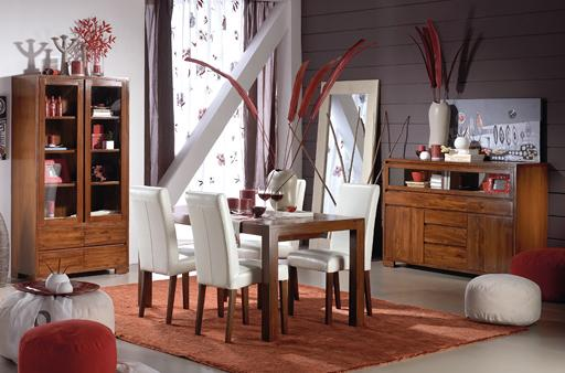 CITY TEAKWOOD DINING ROOM