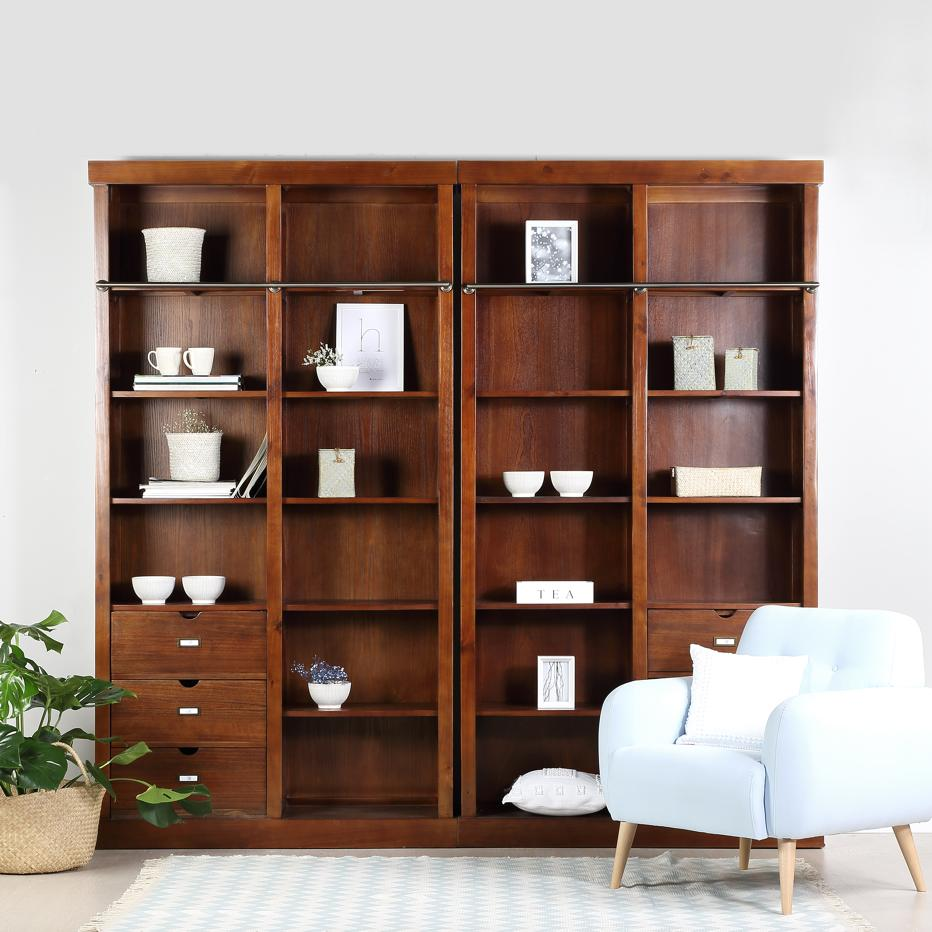 Tand teak shelf