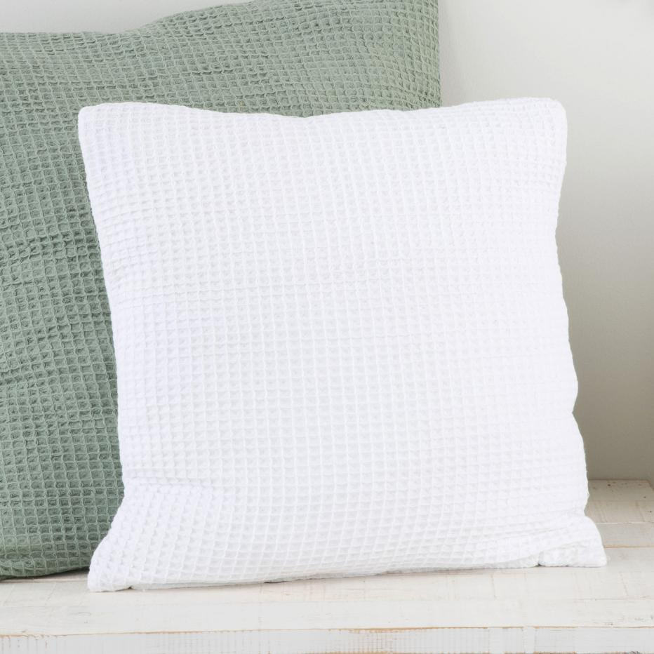 Trela white cushion 45x45