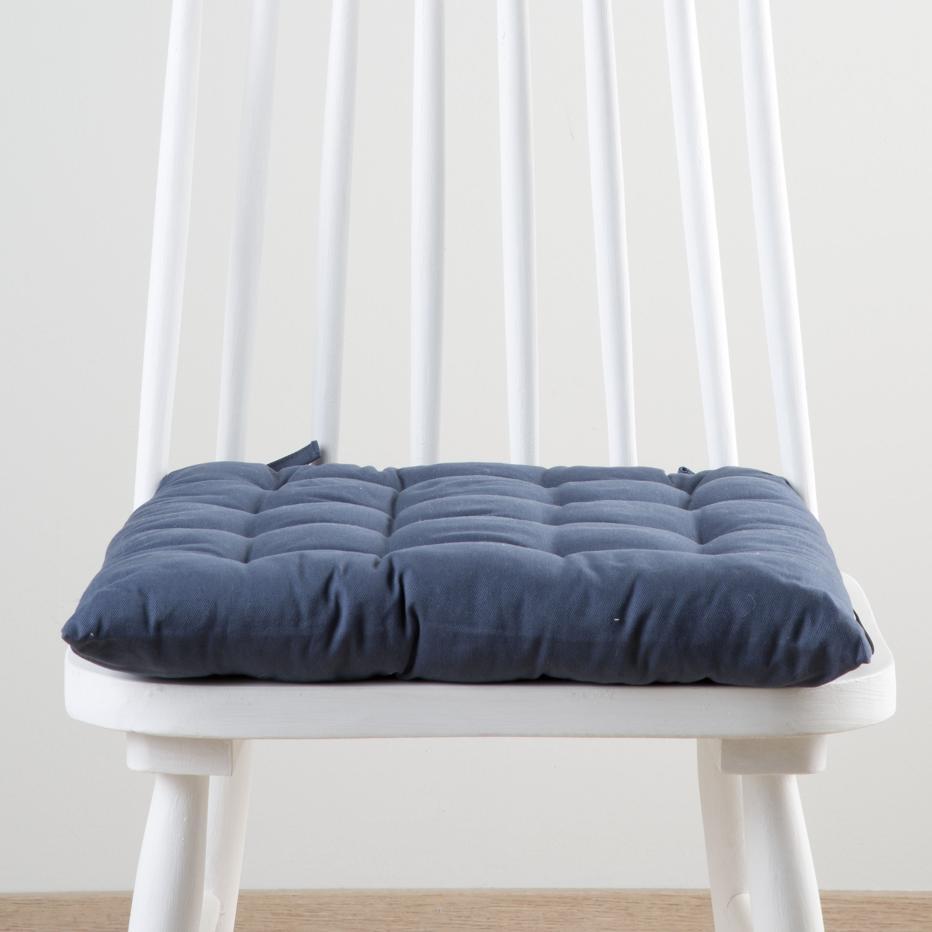 Bina dark blue cushion 40x40