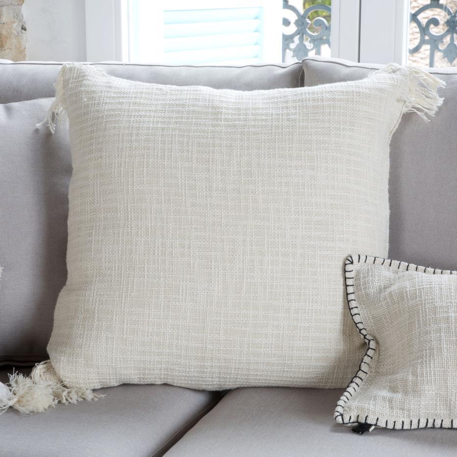 Kosal ecru cushion vintage