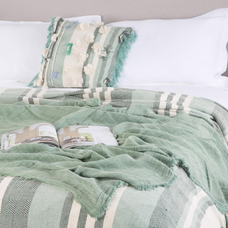 Layn toalha de mesa 160x300 verde claro