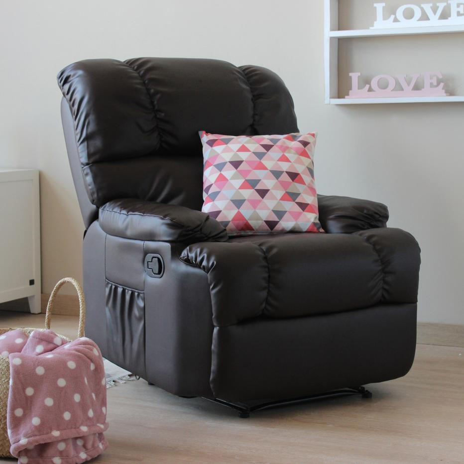 Daryl fauteuil actionnement relax m canique banak importa - Fauteuil relax mecanique ...
