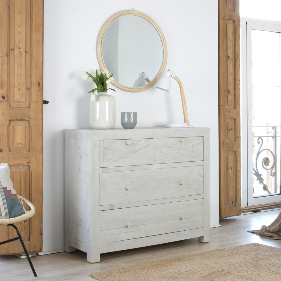 Milner chest of 4 drawers