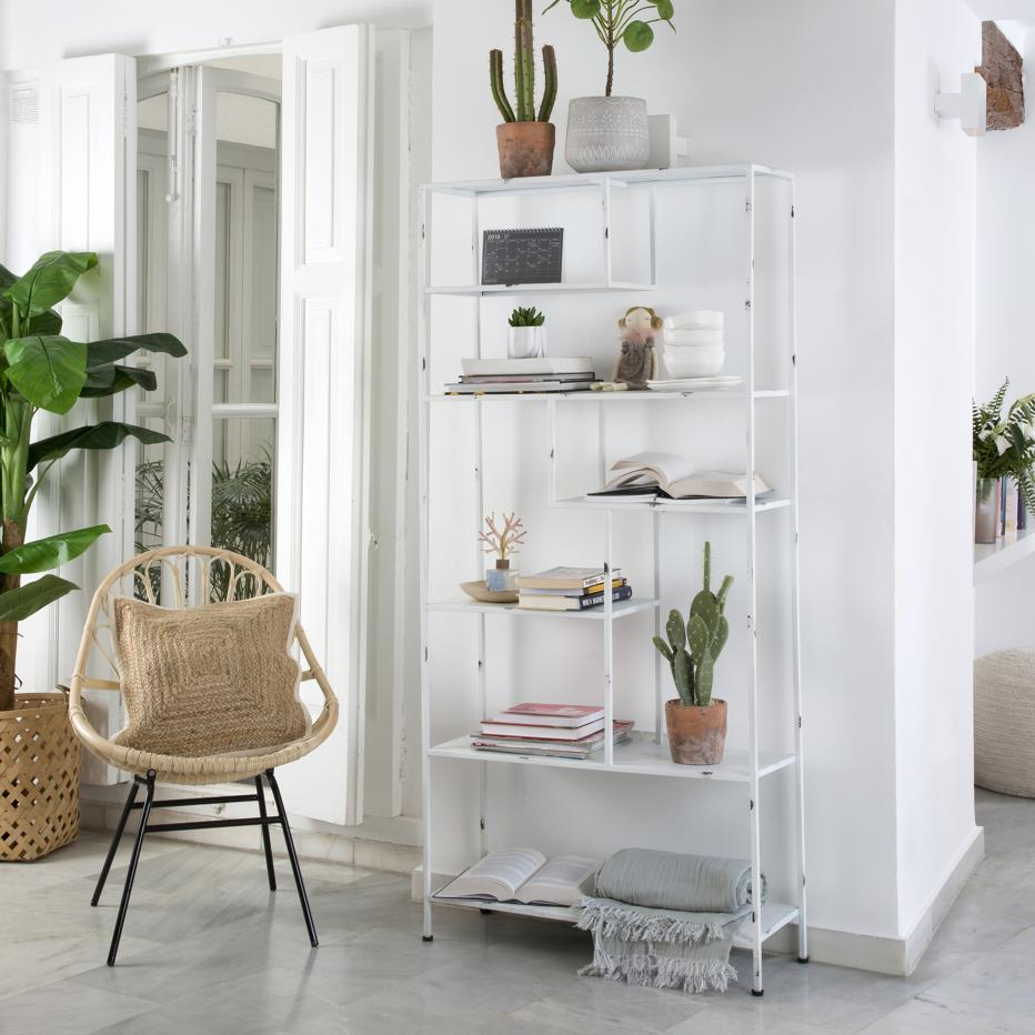 Oslo white shelf 80