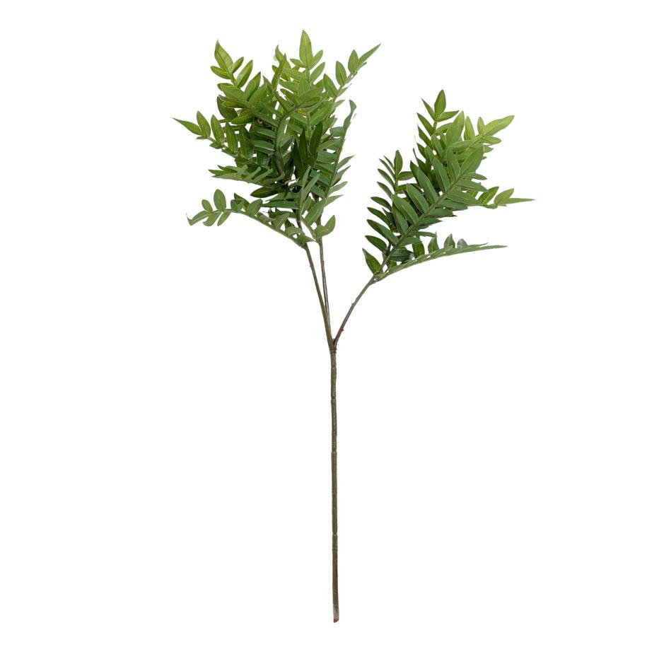 Nufa rama poliester  hojas verdes  72 h