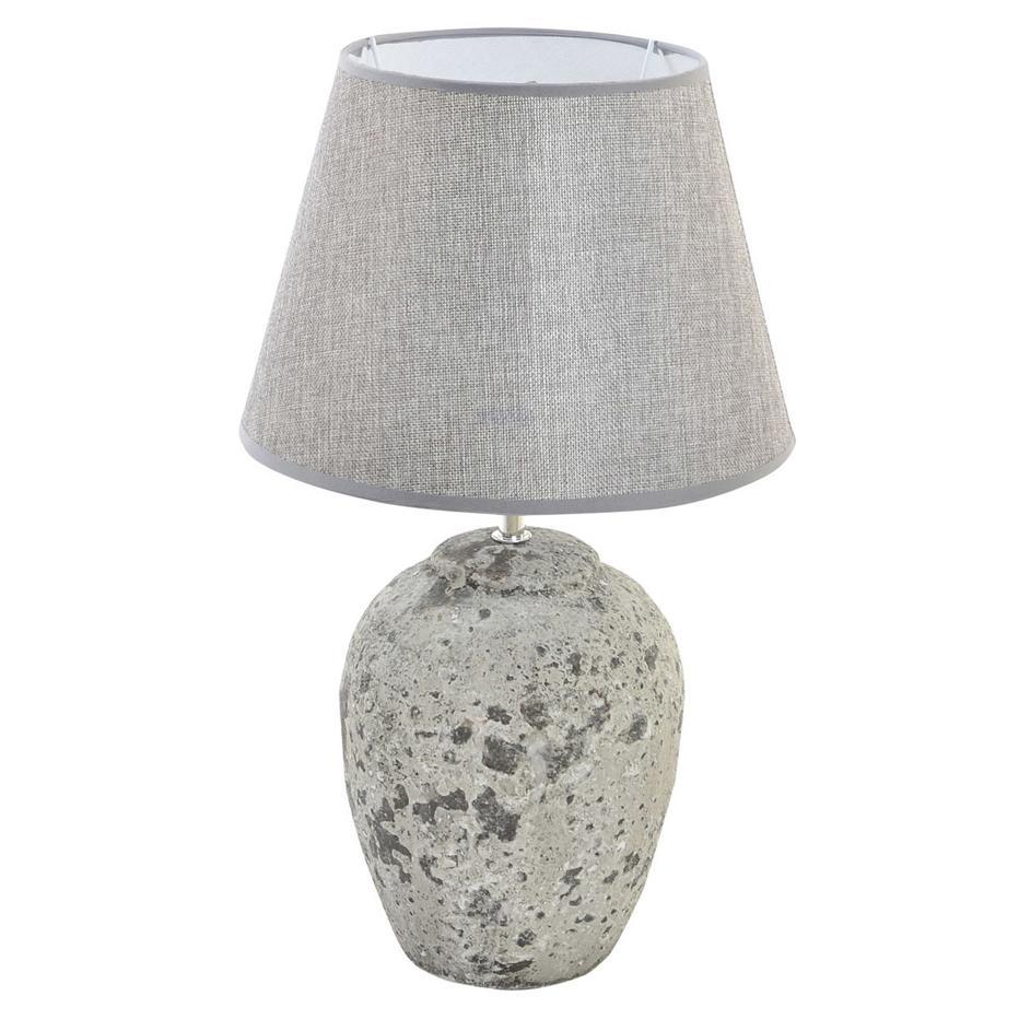 Nede lampara sobremesa ceramica simil piedra