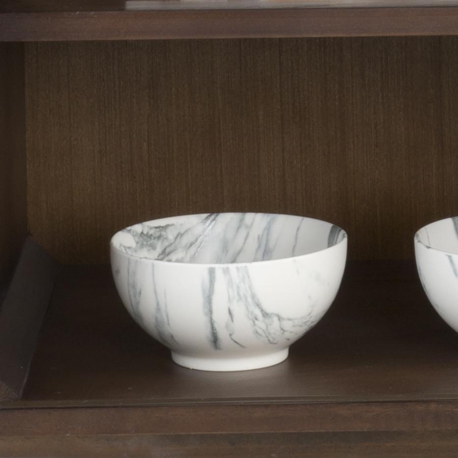 Talk bol porcelana mate blanco
