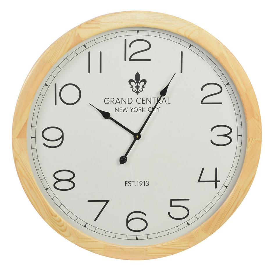 Nors reloj pared madera cristal banak importa - Reloj decorativo de pared ...