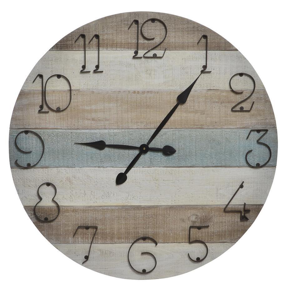 Broo wood wall clock