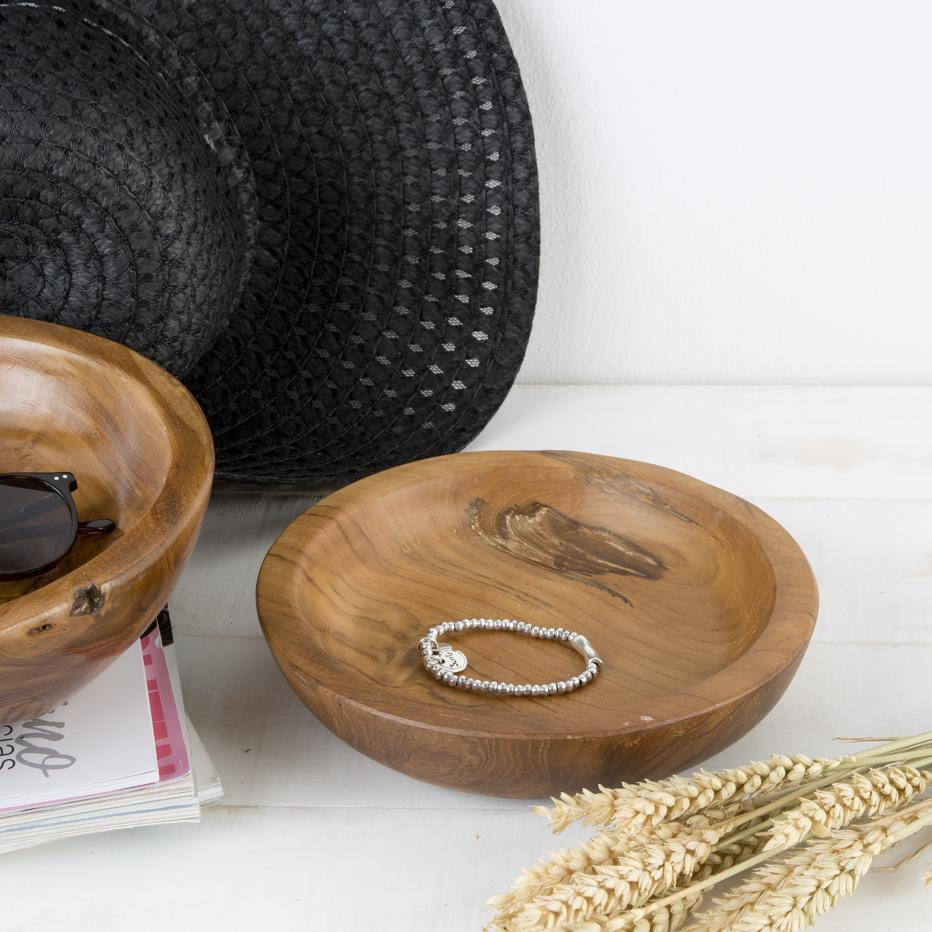 Rewe cuenco natural madera