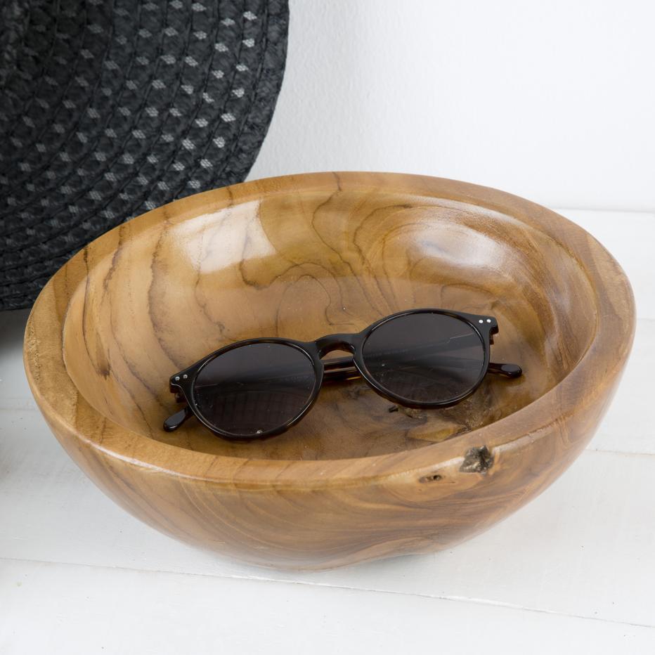 Wase cuenco natural madera