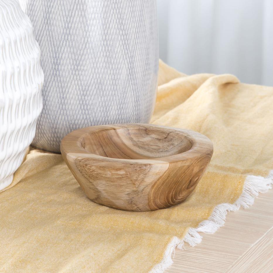 Jise natural wooden bowl