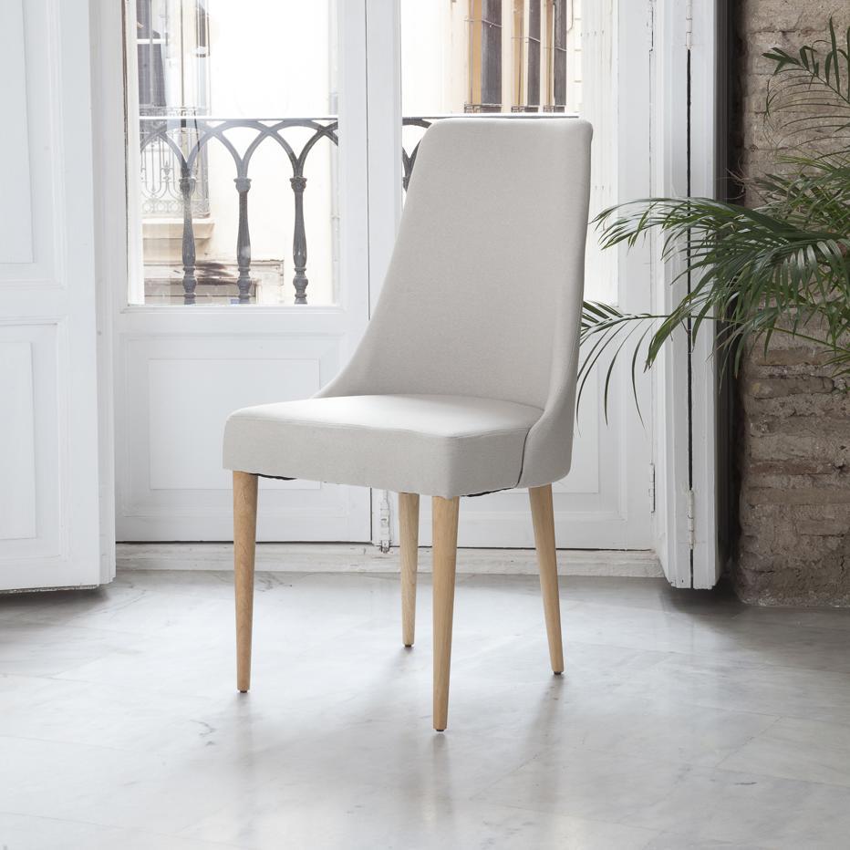 Elisa cadeira bege