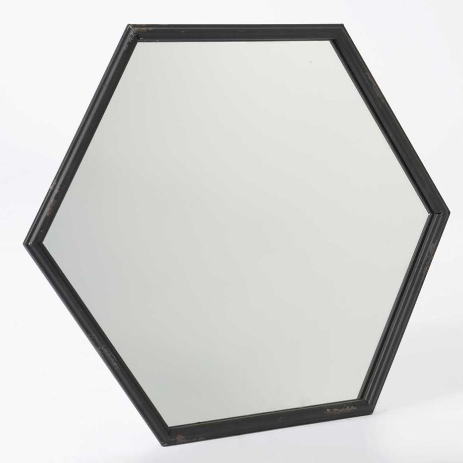 Luil specchio esagonale banak importa for Specchio esagonale