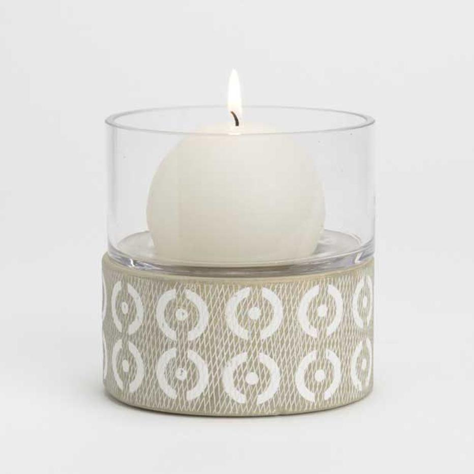Luss candle holder