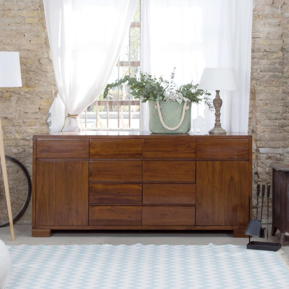 City teak sideboard