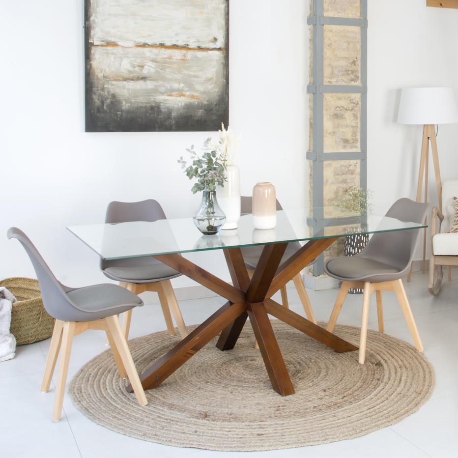 Nurma teak base table