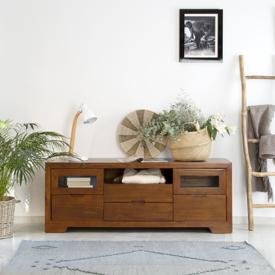 Par mueble tv banak importa for Banak muebles auxiliares