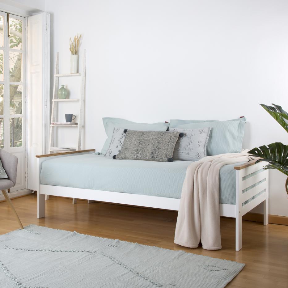 Yunna cama juvenil blanca