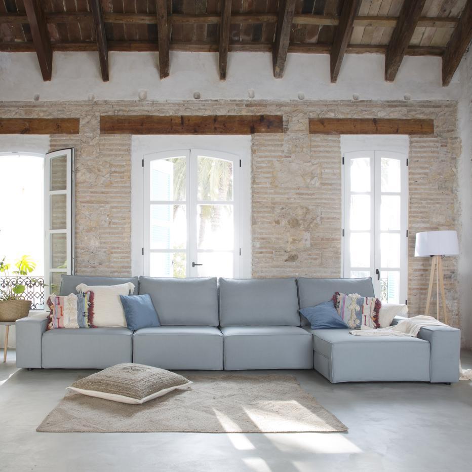 Delta sofá con chaise longue