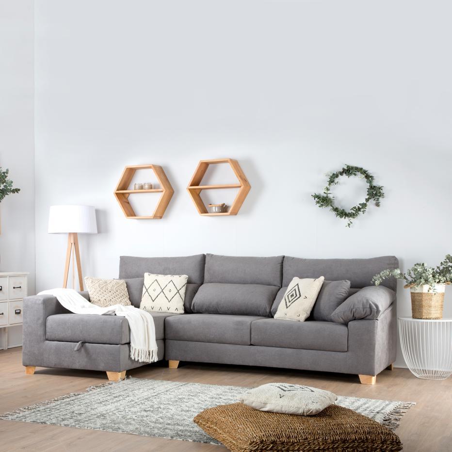 Shambala sofá con arcón express