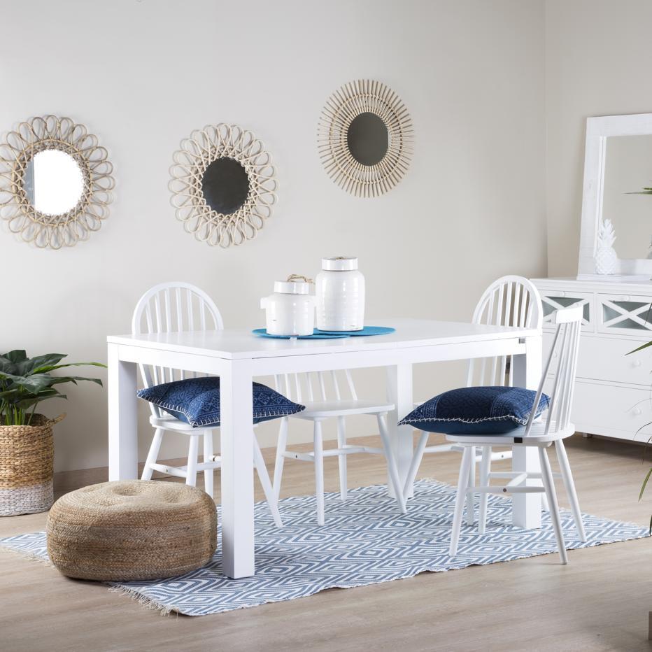 Sipura mesa extensible 140/190 blanca