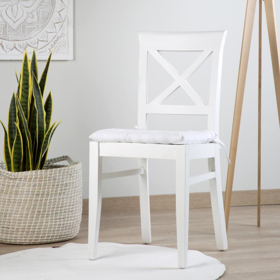 Tal white chair