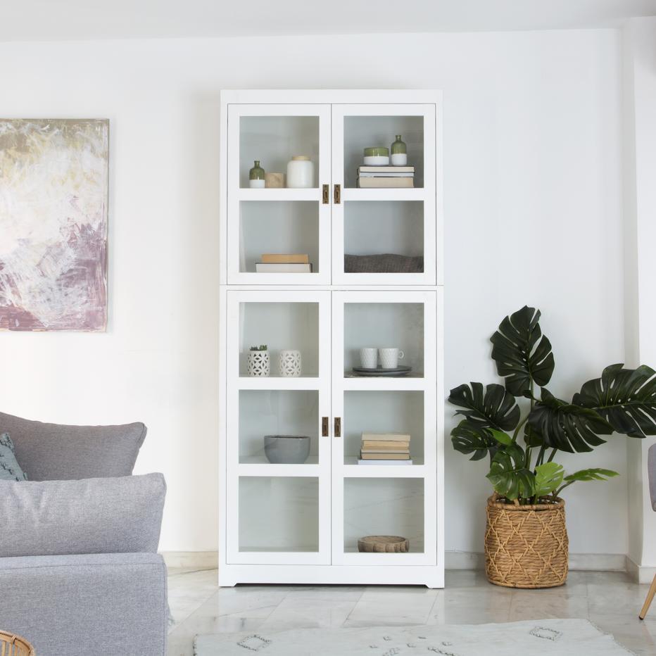 Vartra gala white cabinet