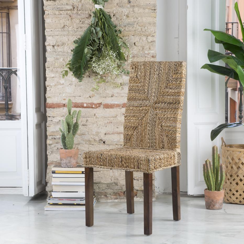 Acra silla ratán natural