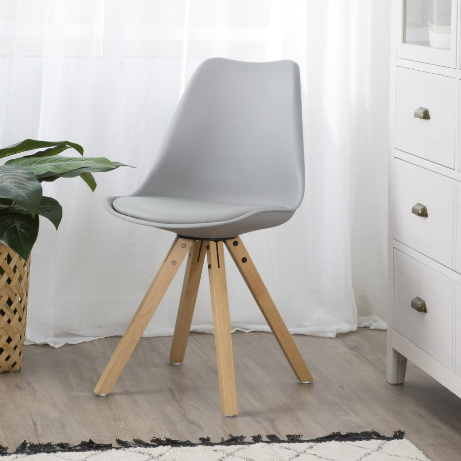 Hasa grey chair