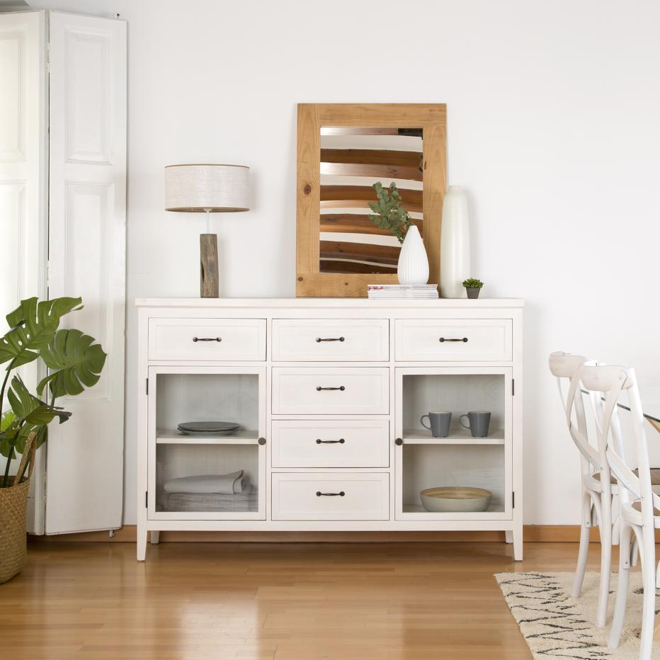 Mayen ivory white sideboard