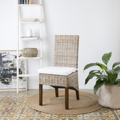 Koboo chaise rotin naturel