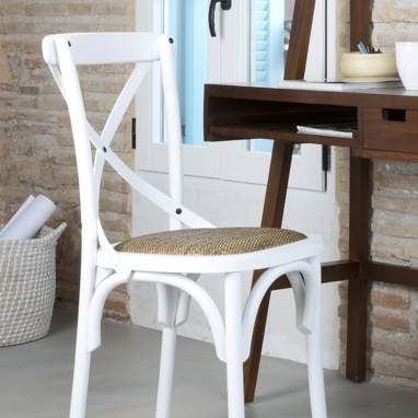 Abad white chair