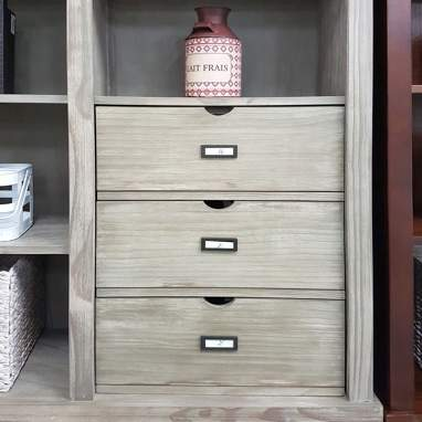 Tand unit 3 drawers for hazel shelves