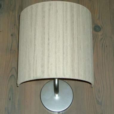 Cinta lampada a muro rotonda