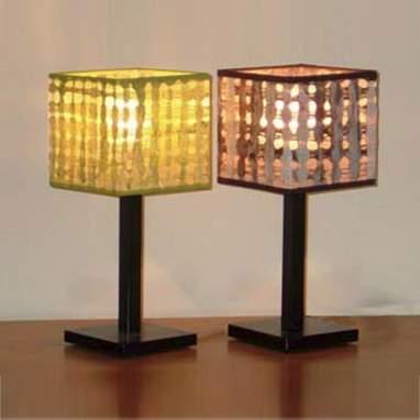 Agujeros lámpara cuadrada