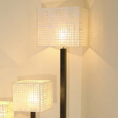 Agujeros lampadaire carré 165h