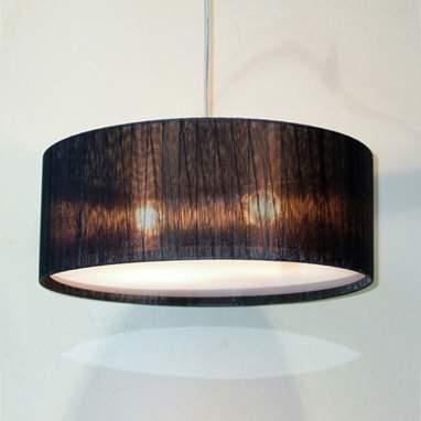 Organza lámpara techo redonda