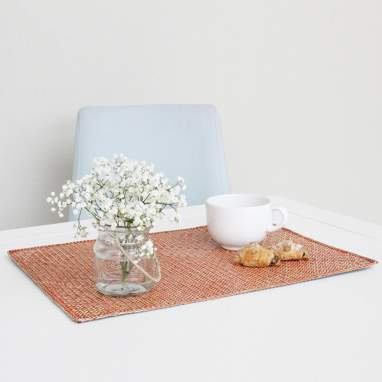 Turo nappe individuelle orange 35x50