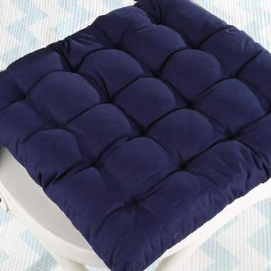 Liku padding blue cushion